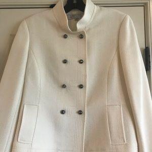Tahari off white  Edwardian style Jacket Size 6P